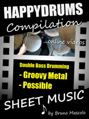Happydrums Compilation, Double Bass Drumming, Groovy Metal, Possible