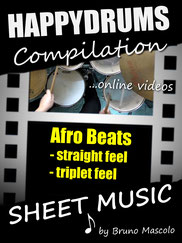 Happydrums Compilation, Afro Beats, straight, triplet
