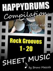Happydrums Compilation, Rock Grooves 1-20