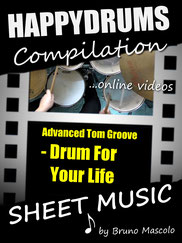 Happydrums Compilation, Advanced Tom Groove, Drum For Your Life