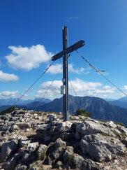 Stubwieswipfel Gipfel oberhalb der Wurzeralm