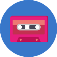 Icone Cassette Audio