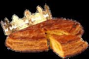 Galette des Rois  feuilletée.