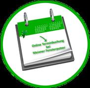 Online Terminbuchung, Glasreinigung, Meixner, Fensterputzer