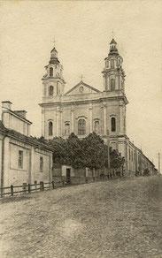 Vilnius. Šv. Rapolo bažnyčia. Leid. V. Borkovskio / St. Raphael's Church. Pub. V. Borkovskis