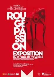 Rouge passion Marseille Maison de l'Artisanat