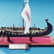 26-4 Viking Ship | Mamoru ODA