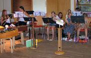 Orchestervorbereitungen...