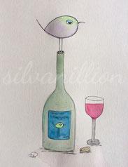 """Cabernet Piepignon"", Illustration von silvanillion"