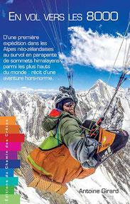 Le livre en vol vers les 8000 d'Antoine Girard