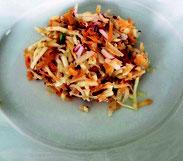 salade croquante aux légumes de Printemps