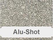 Aluminiumstrahlmittel, Alu-Shot, Aluminium rund, Strahlmittel aus Aluminium, Strahlmittel für NE-Metalle