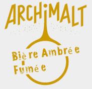 Bière ambrée fumée de la microbrasserie Archimalt