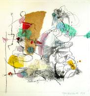 « Gravure : Couple, canapé, elle pense », 2014