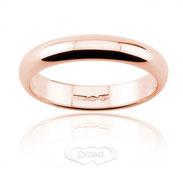 anello nuziale oro rosa grammi 6 mm 4.5