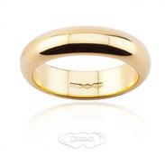 anello nuziale oro giallo grammi 10