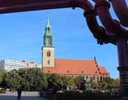St.Marienkirche am Alexanderplatz. Foto: Helga Karl