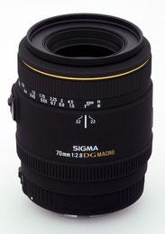 Sigma 70mm F2,8 EX DG MAKRO