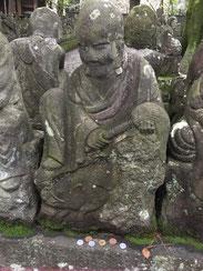 川越にある喜多院・五百羅漢の中にある亥のお地蔵様。 そろそろ子年を迎える準備です!