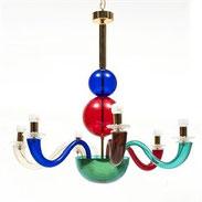 giò-ponti-ricambi-e-lampadari-di-murano-colorati