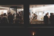 Kochschule, Kochevents, Kochkurse, Events, Weihnachtsfeier, Hochzeit, Teamevent, Jubiläumsfeier, Bad Liebenzell, Stuttgart, Calw, Sindelfingen, Pforzheim, Herrenberg, Markus, Bitsch, Pierre, Dispensieri, Handwerk trifft Mundwerk, Junggesellenabschied,