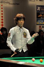 昨年度大会男子の部準優勝・川端聡(JPBA)
