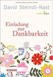 Einladung zur Dankbarkeit David Steindl-Rast Buchtipp