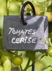 étiquettes de jardin en ardoise naturelle de Cayrol