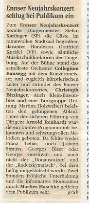 "Neujahrskonzert 2016, ""Volksblatt"""