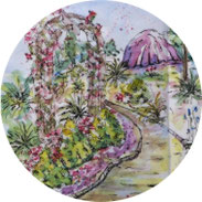 Art Journal - Mein Gartenjahr - Juli - DIY