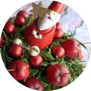 Weihnachten - Weihnachtliche Apfelschale - DIY
