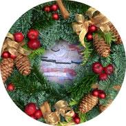 Weihnachten - Weihnachtlicher Türkranz - DIY