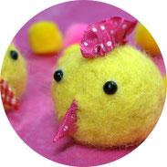 Ostern - Küken filzen - DIY