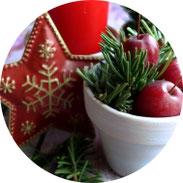 Weihnachten - Dekorieren mit Zieräpfeln - DIY