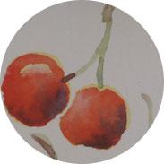 Aquarellgrußkarten für Anfänger - Sommerfrüchte - DIY