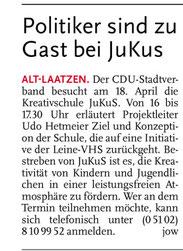 Leine-Nachrichten 16.04.2011