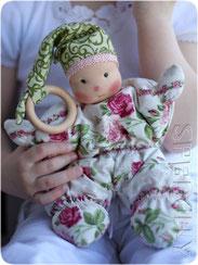 куклы бабочки для самых маленьких в вальдорфском стиле