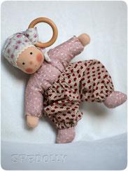 кукла из ткани в вальдорфском стиле натуральные материалы