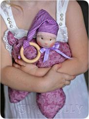 кукла бабочка вальдорфская