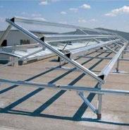 Les éléments de charpente aluminium sont produits par la plus ancienne entreprise allemande dans le domaine solaire