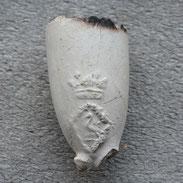 Pijpje uit ca 1730-1750, waarschijnlijk Gouda