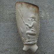 Ca 1720-1740,         Zittende             rokende visser