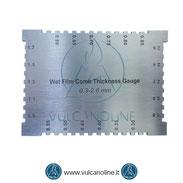 Spessimetro a pettine per film umidi - VLMFMP