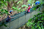 Arenal one day combination tour:  La Fortuna Waterfall, Canopy Tour and Lunch