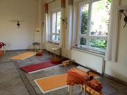 Schöner Yogaraum im Rosenwaldhof