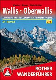 Rother Wanderführer Reiseführer Zermatt