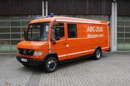 Ein Mercedes-Benz Vario ist die Grundlage für die neue Serie von Strahlenschutzfahzeugen.