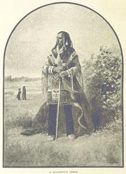 Zustand der Indianer in staatlichen Reservaten in New York