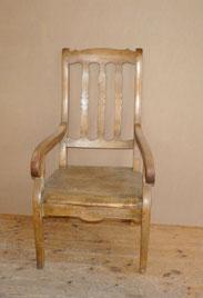 Großer, Eifler Biedermeier Sessel, Stuhl, Esche, Armlehnstuhl,, € 525,00
