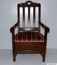 Armlehnstuhl spätes 18. Jahrhundert; € 650,00